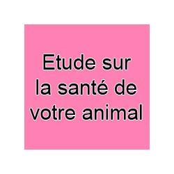 Etude de la santé de votre animal