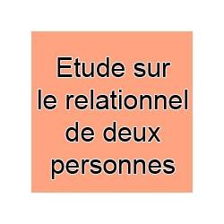 Etude sur le relationnel de deux personnes
